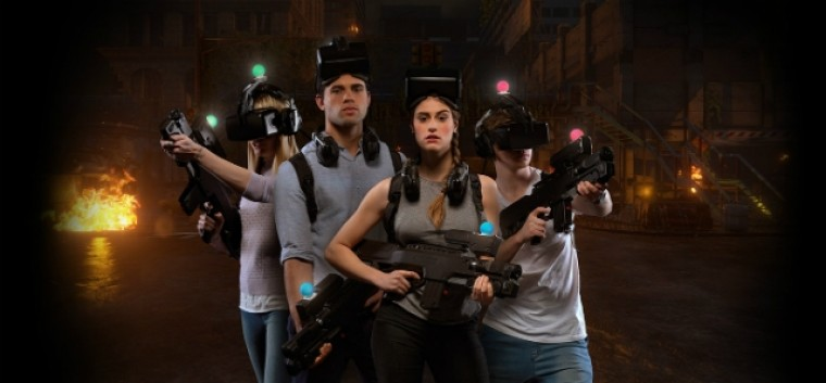 Virtual reality centre in Melbourne lets you kill zombies