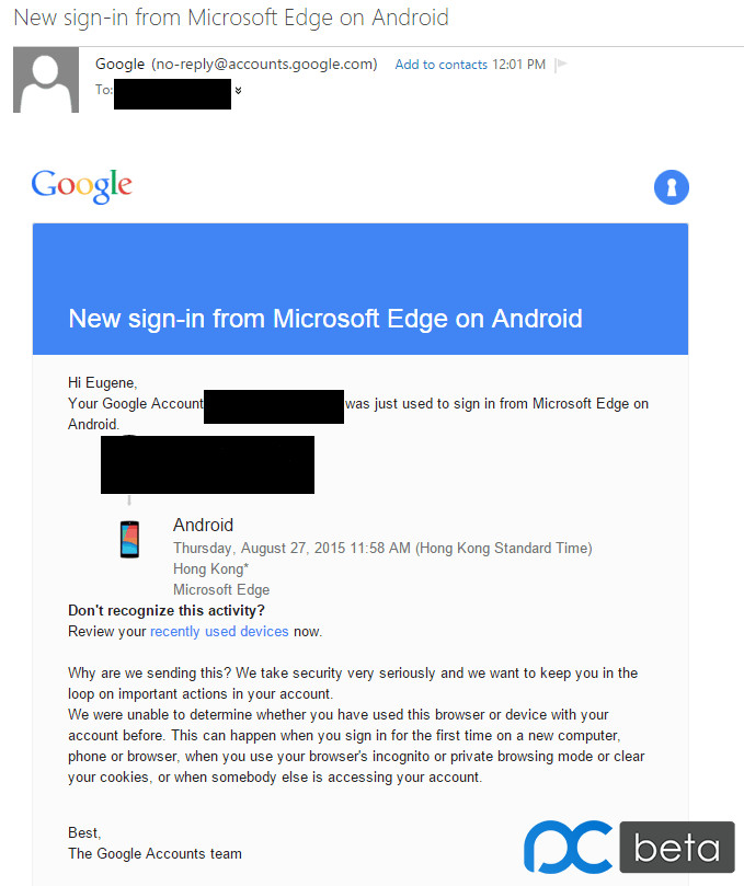 Is Microsoft Testing Its Edge Browser On Android? [Update