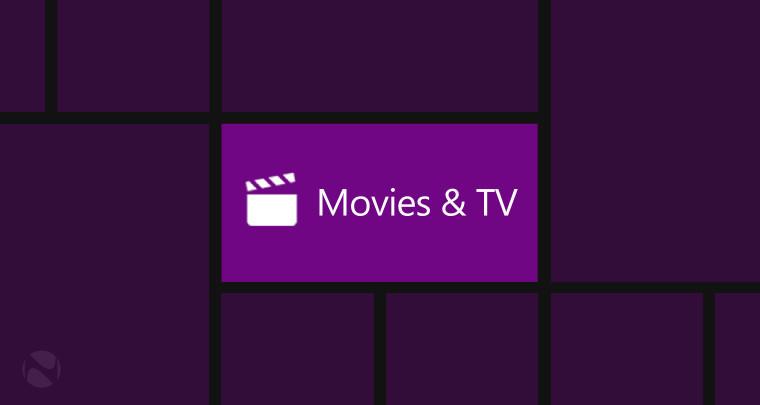 Microsoft updates Movies & TV app for latest Windows 10