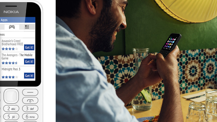 Microsoft launches the Nokia 222, a $37 handset with up to a month of battery life