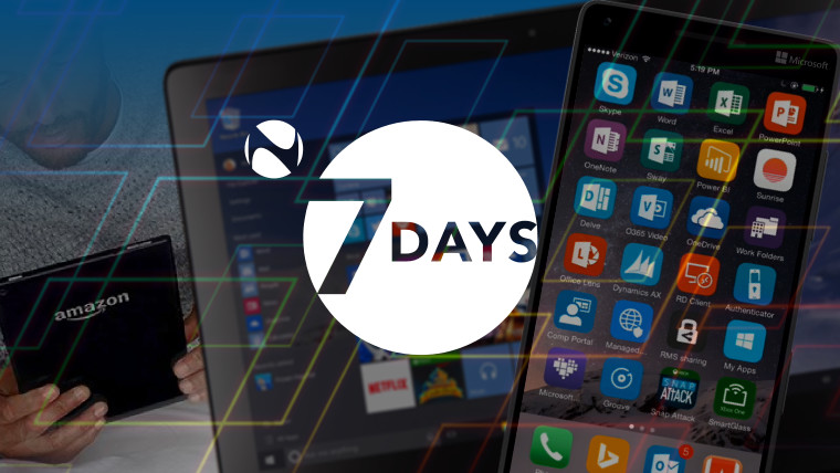 7 Days: A week of budget-friendly Fire, Windows 10 updates, and Microsoft's iPhone Pro