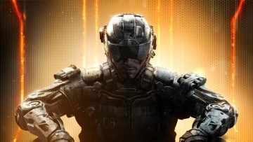 This is a promotional image of Call of Duty Black Ops III