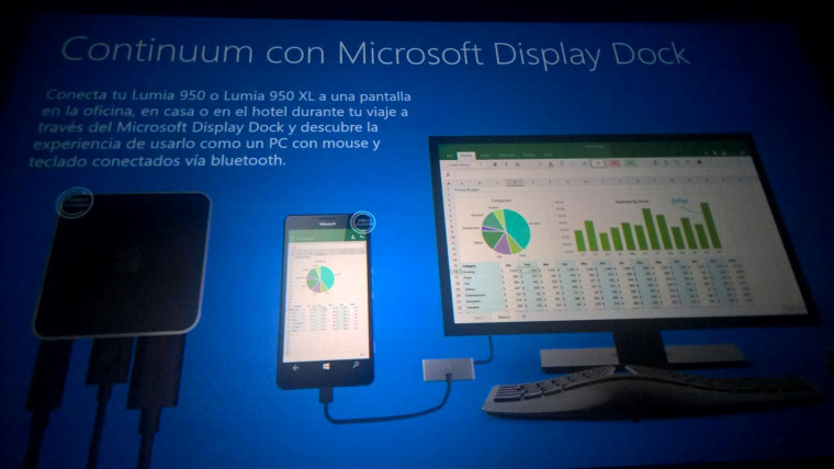 Leaked Microsoft slides confirm Lumia 950 and 950 XL specs, Continuum 'Display Dock'