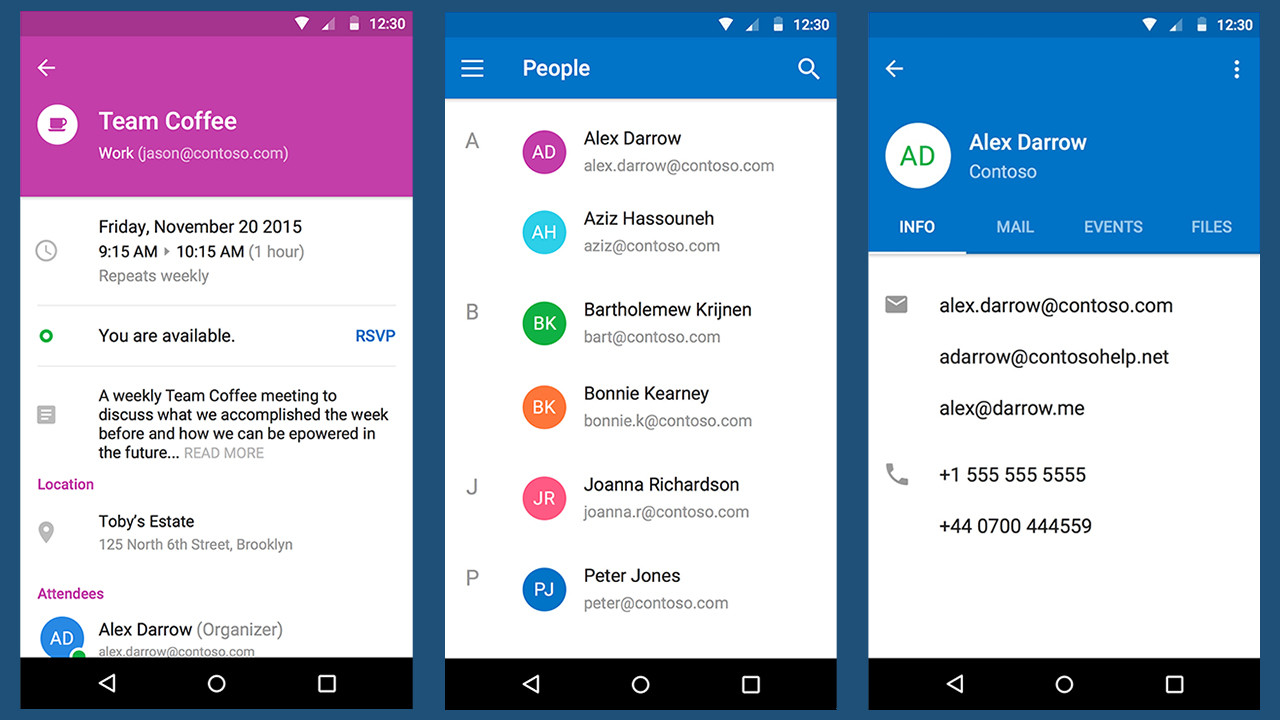 Outlook on Android and iOS getting improved design, merging
