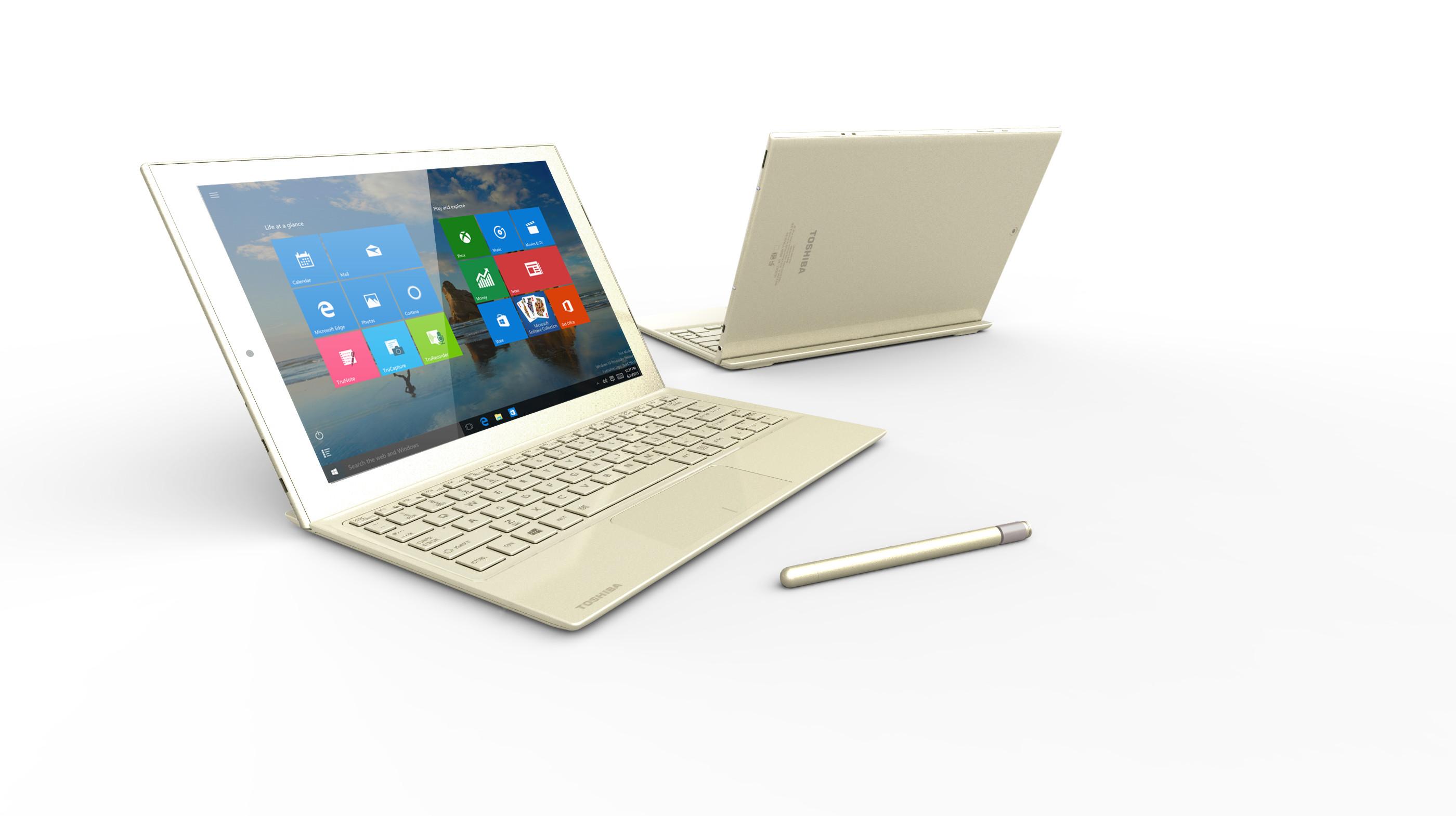 Microsoft reveals Toshiba dynaPad, a stunningly thin 12-inch Windows