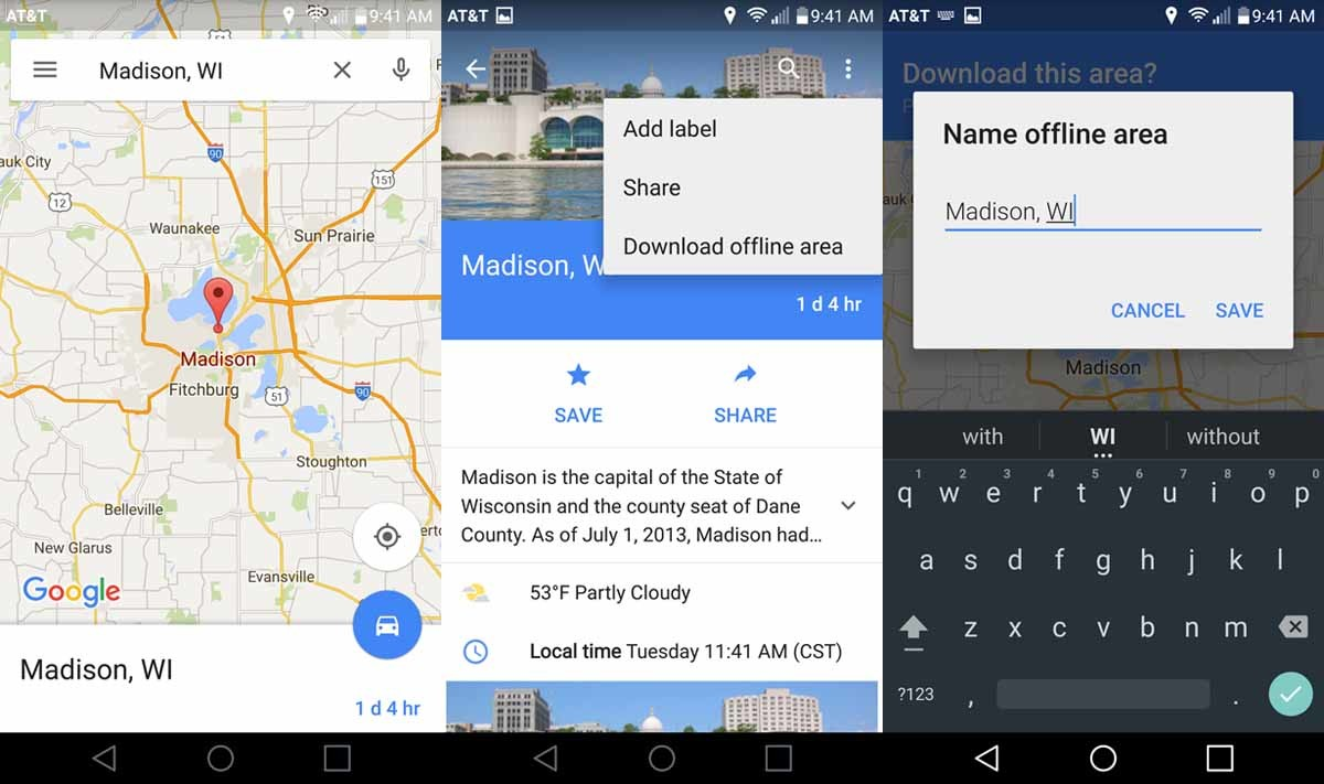 maps for ios gets offline maps navigation and business search matching android