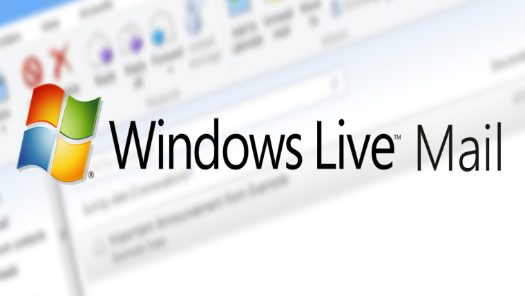 Windows Live Mail 2012 requires an update to keep using it