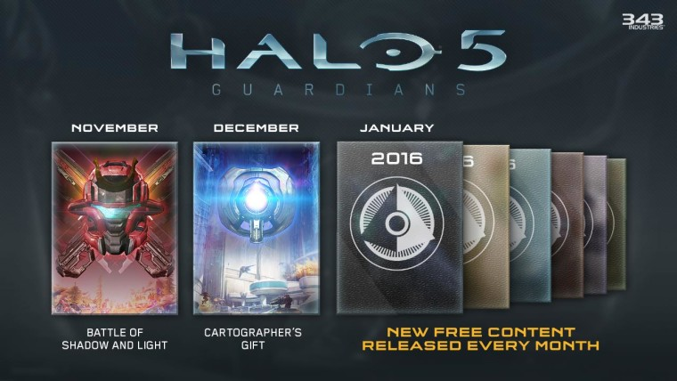 'Halo 5: Guardians': Cartographer's Gift DLC Packed With New Maps for Arena and Warzone, New Weapons & Armor, Halo Player Creation Tool