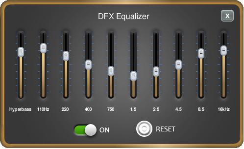 DFX Pro Quality EQ