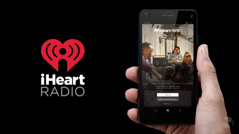 iHeartRadio heads to Windows 10 Mobile with support for