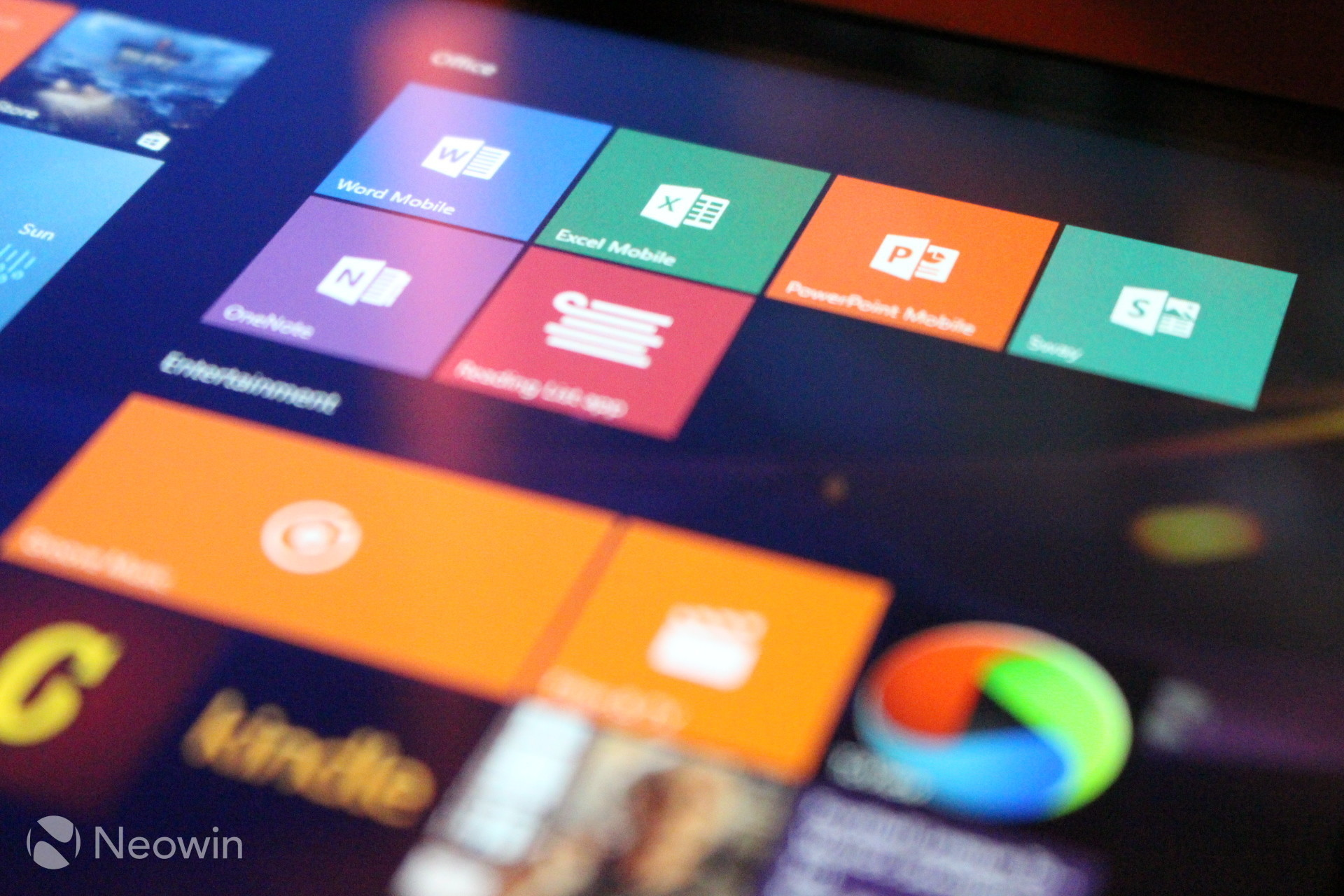 No surprise, but the Office Mobile apps for Windows 10 are