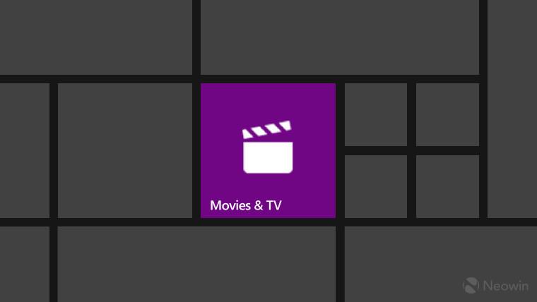 movies and tv app windows 10