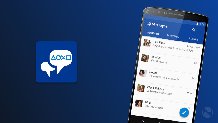 Sony launches PlayStation Messages app for iOS and Android