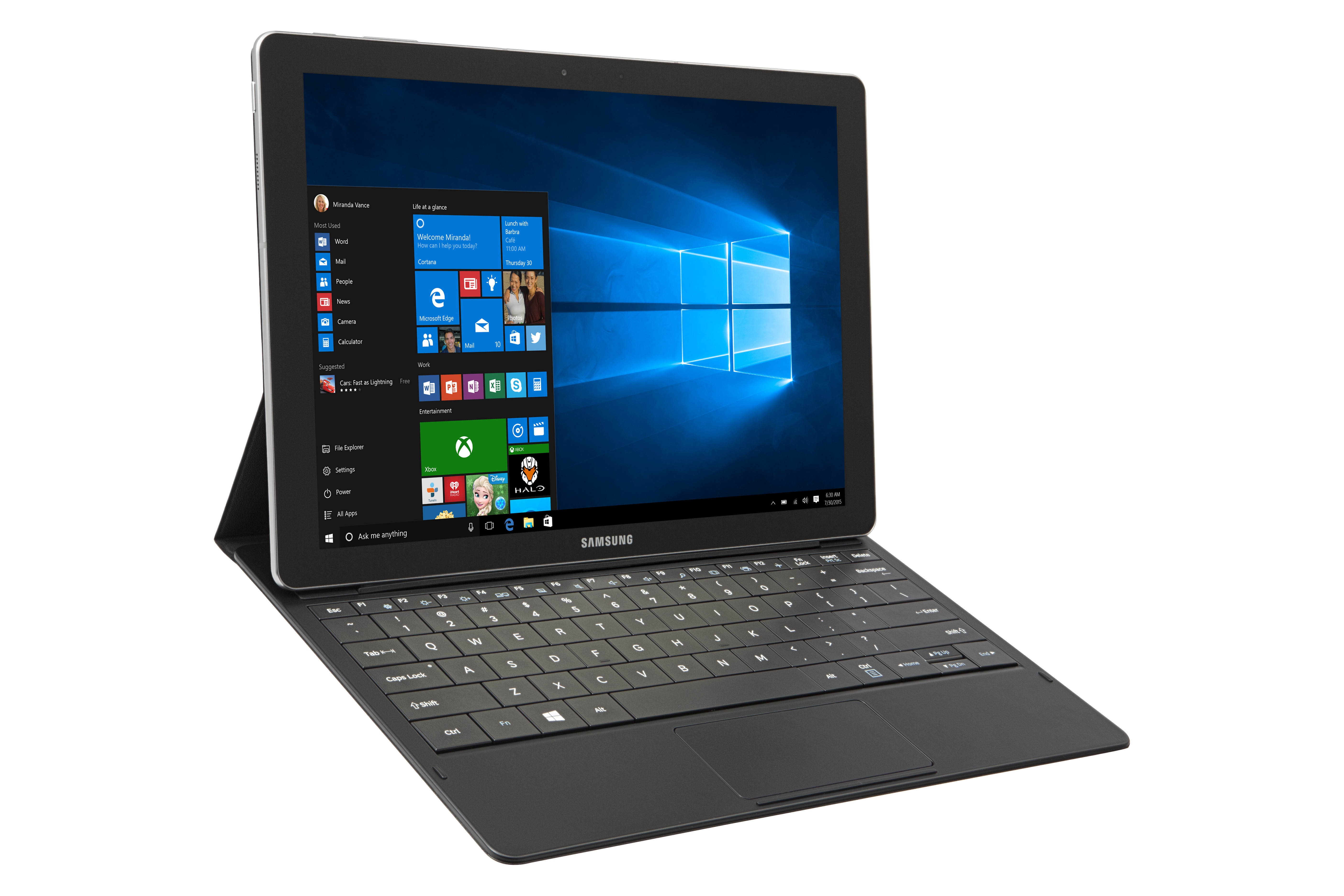 Samsung unveils 6.3mm-thick Galaxy TabPro S with Windows 10, 4G, 12-inch 1440p Super AMOLED
