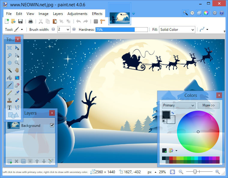 Paint net 4 neowin for Paint software for mac