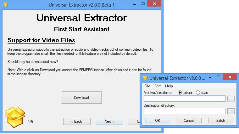 Universal Extractor 2 v2 0 0 Beta 4 - Neowin