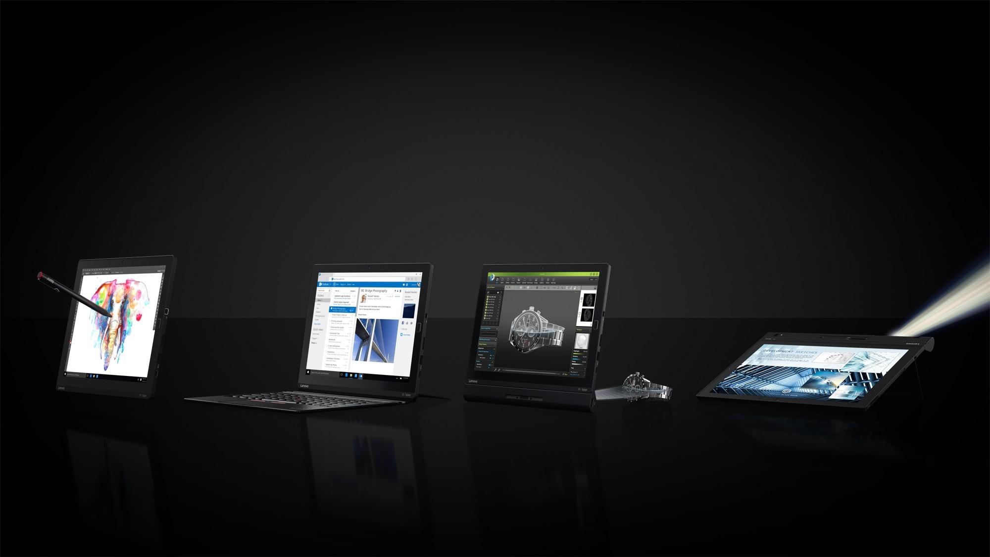 Lenovo introduces the Thinkpad X1 modular tablet with