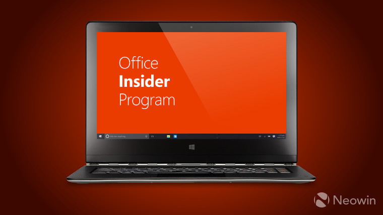 Slow ring Office Insiders on Windows get a couple of new
