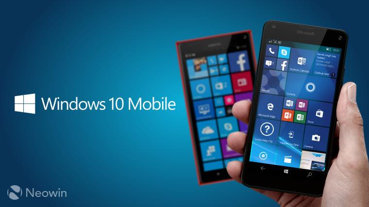 window 10 mobile phone