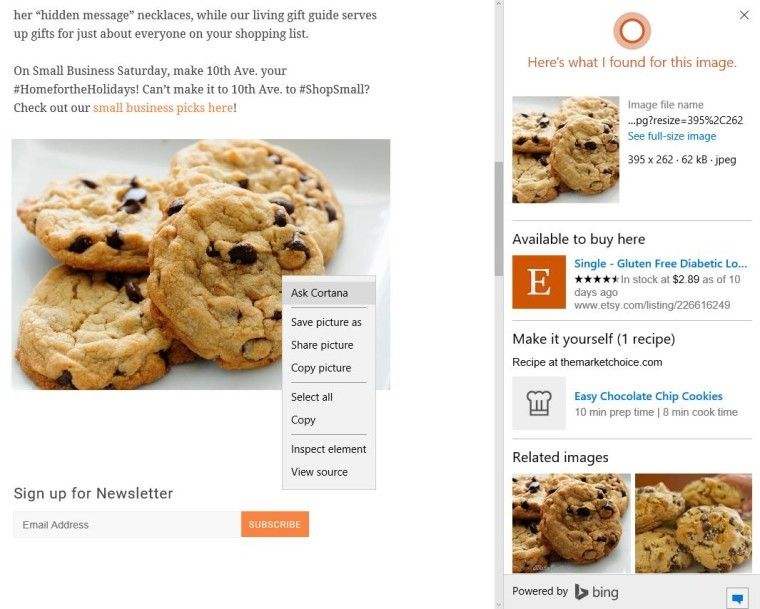 Bing improves image search functionality online, in Microsoft Office