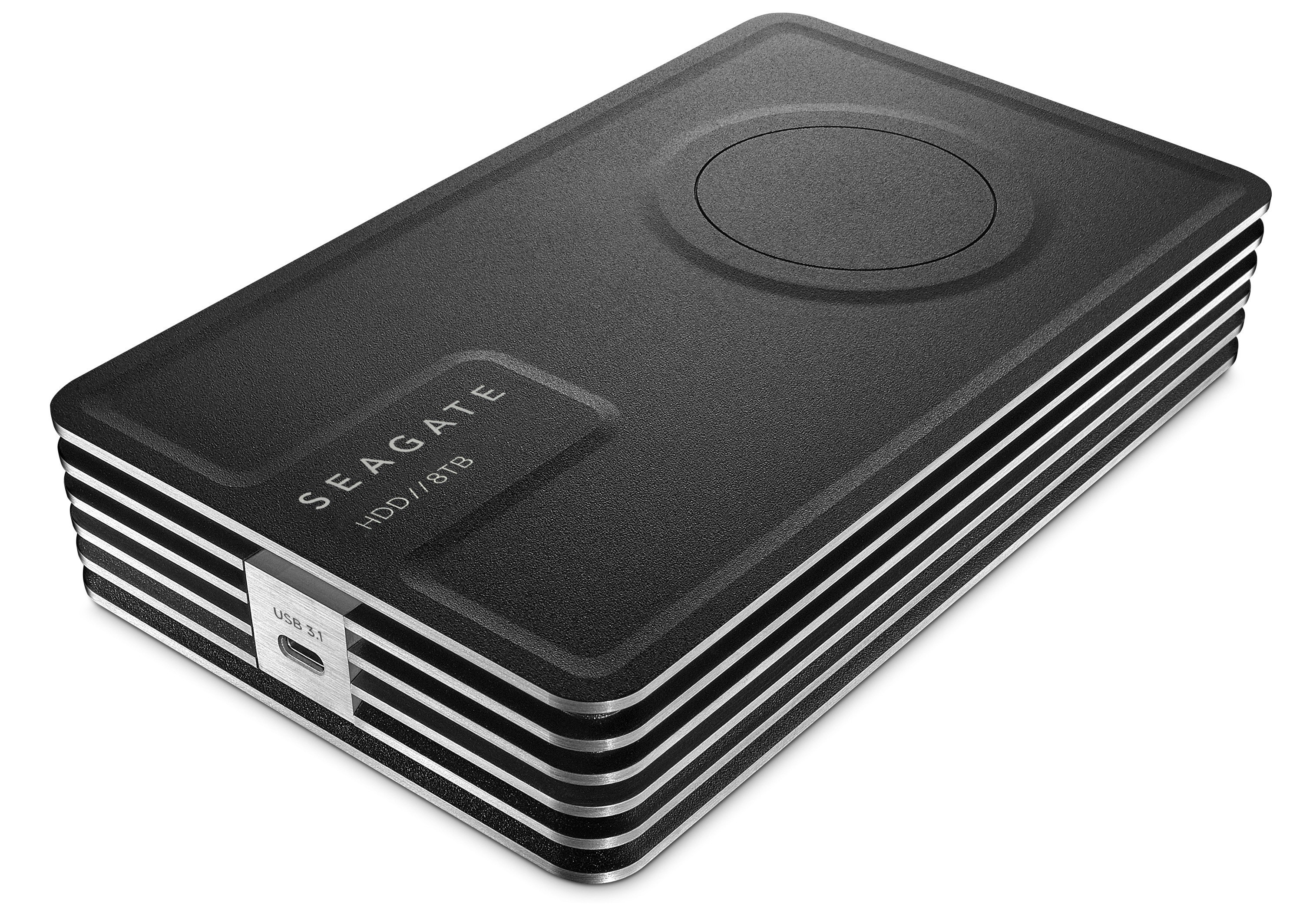 Seagate Innov8 is the world's first USB-powered desktop HDD that offers 8TB of storage