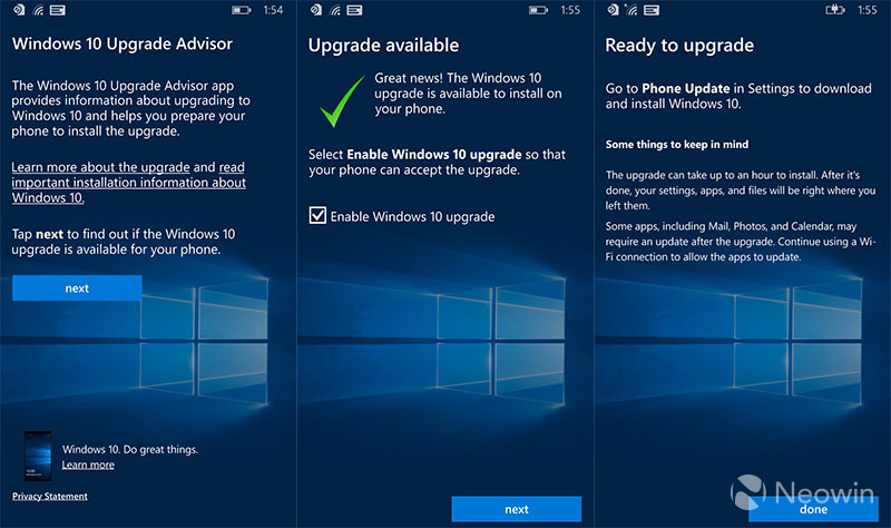 Windows 10 upgrade advisor for pc