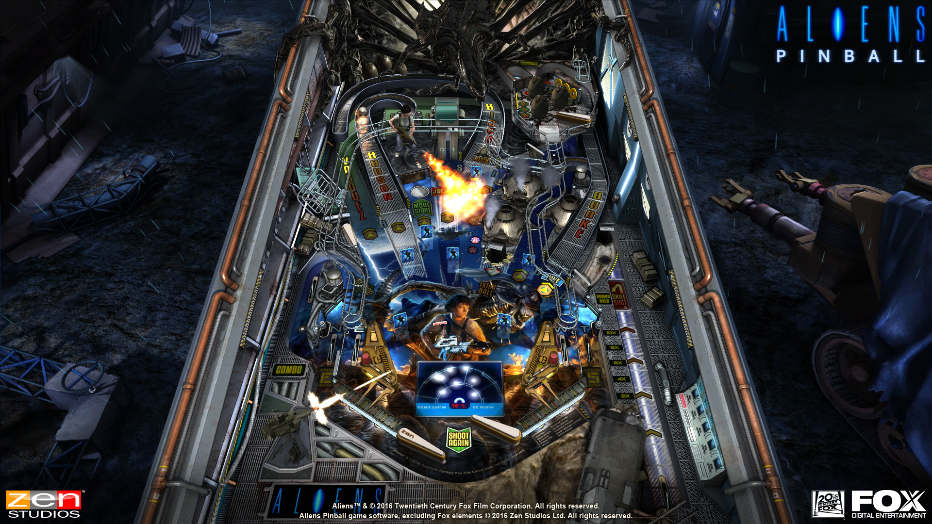 Review Of Aliens Vs Pinball Pack Three Alien Themed Tables For