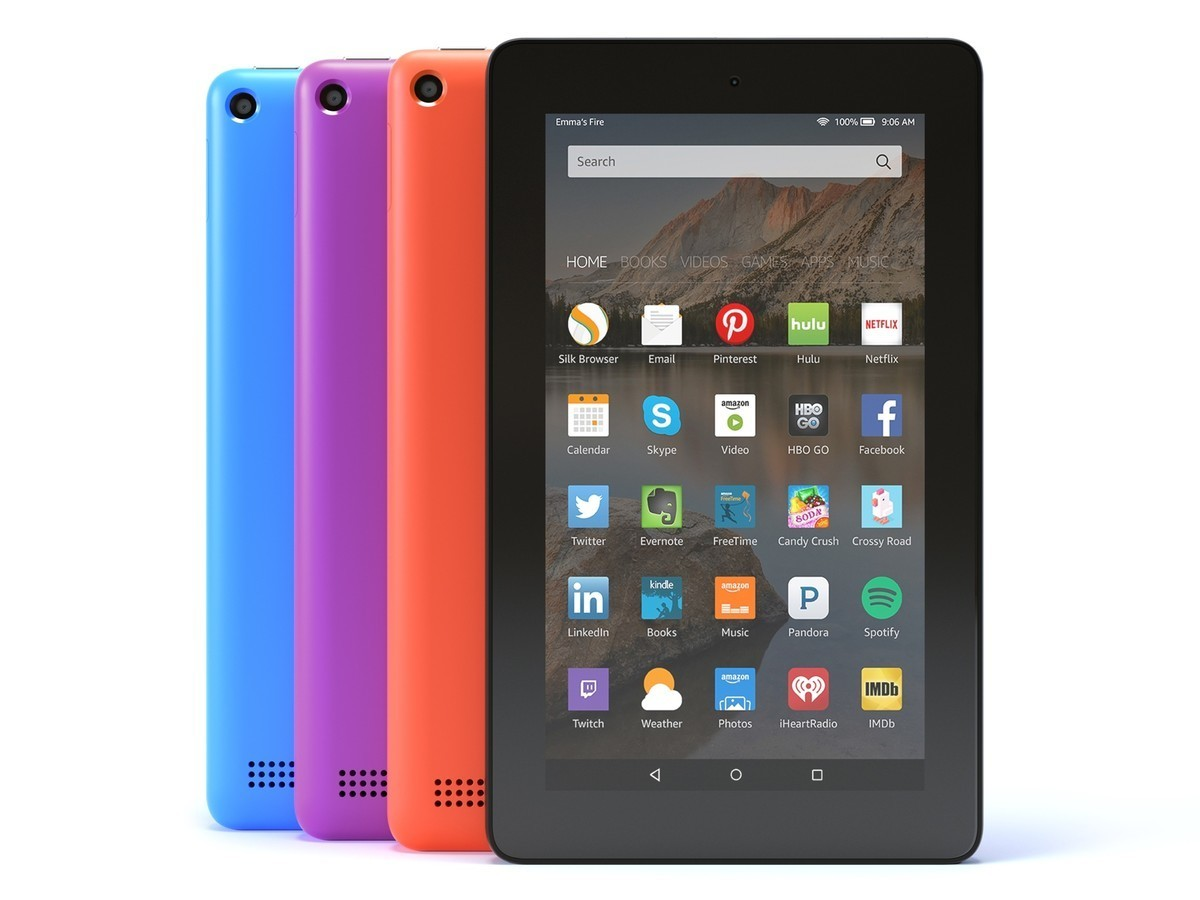 Amazon's $50 Fire tablets are now available in various ...