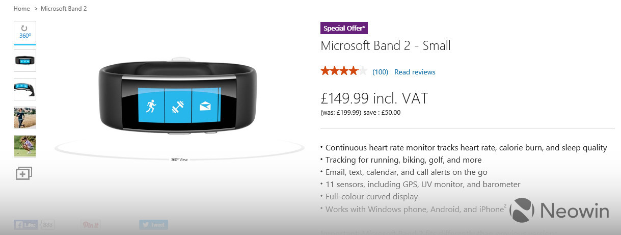 c34d7cf0ada Most such deals have lasted no more than a few days, or even a couple of  weeks. But Microsoft's latest discount on the Band 2 is scheduled to last a  good ...