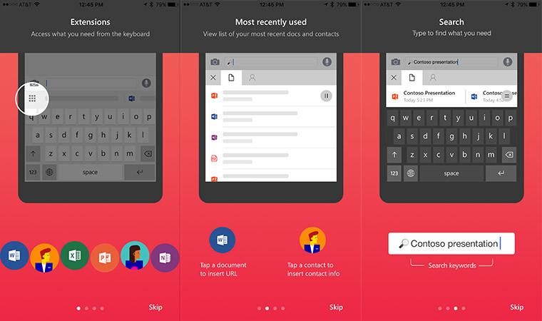Microsoft's Hub Keyboard comes to iOS