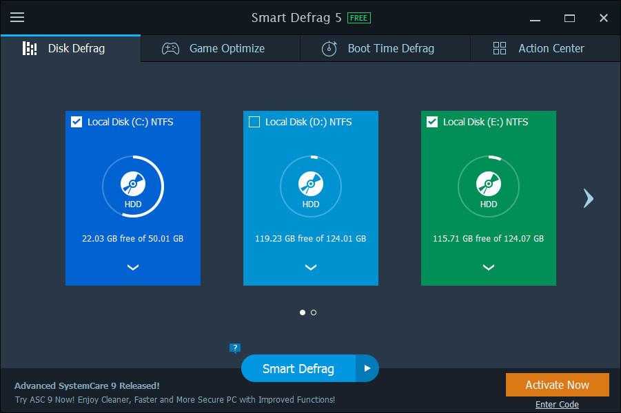 Smart defrag 6. 1. 5. 120 скачать на пк бесплатно.