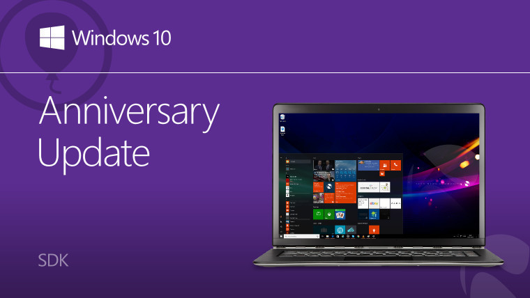 Windows 10 Anniversary Update SDK build 14393 now available - Neowin