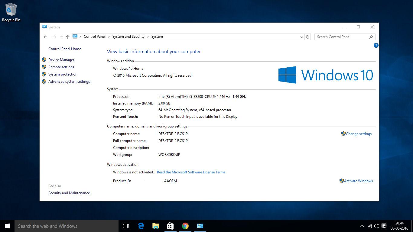 Wintel Pro CX-W8 review: A mediocre $90 Windows 10 PC that