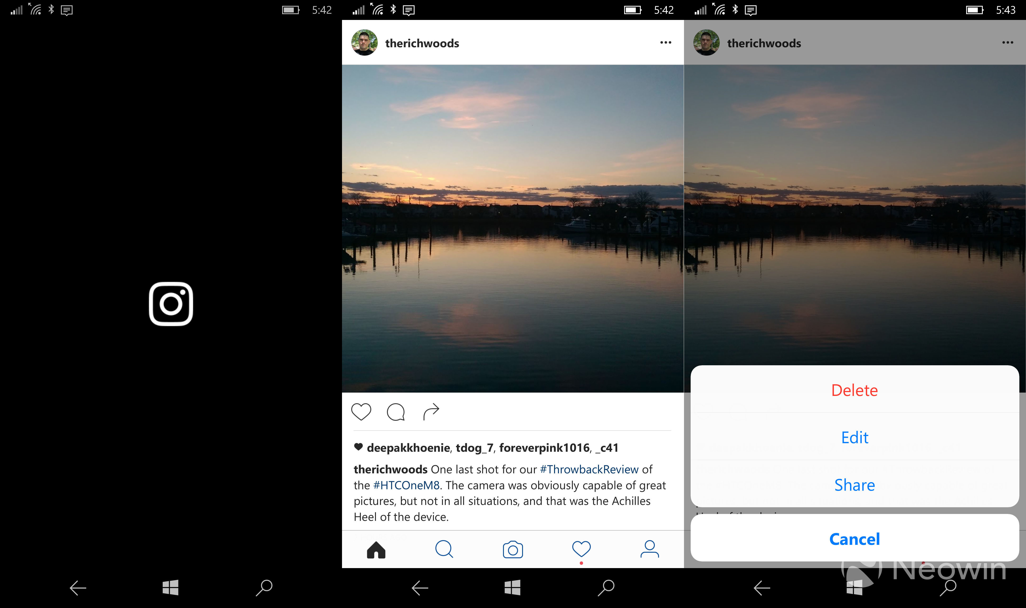 The redesigned Instagram app for Windows 10 Mobile is now ...