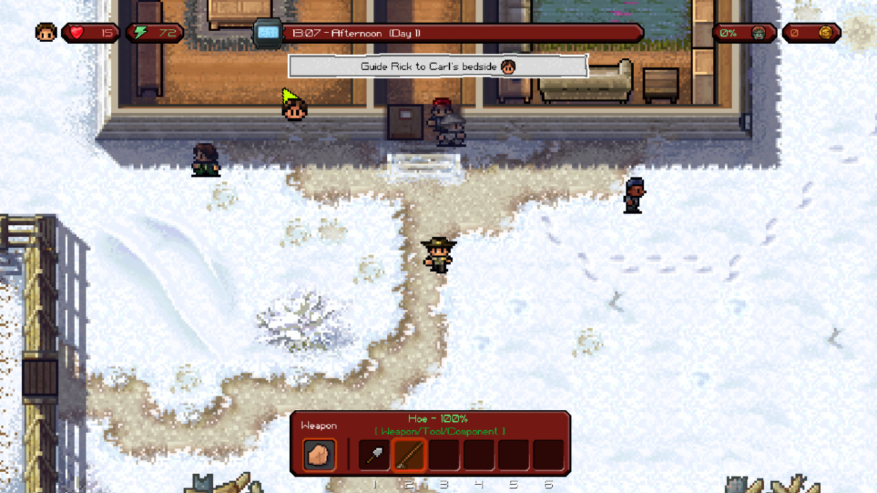 Review of 'The Escapists: The Walking Dead' for Windows 10
