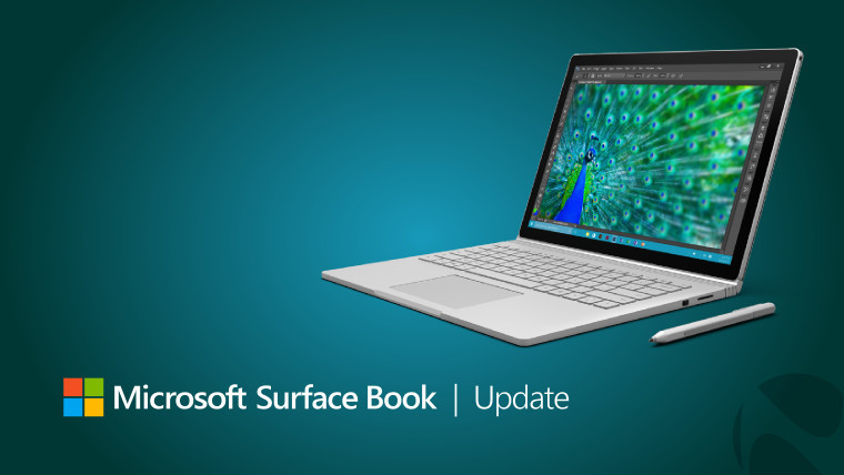 Surface Book receives a long list of firmware and driver updates