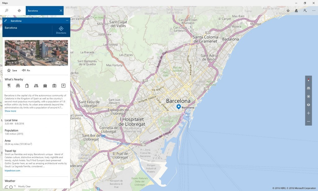 Microsoft updates Windows 10 Maps app, including migration