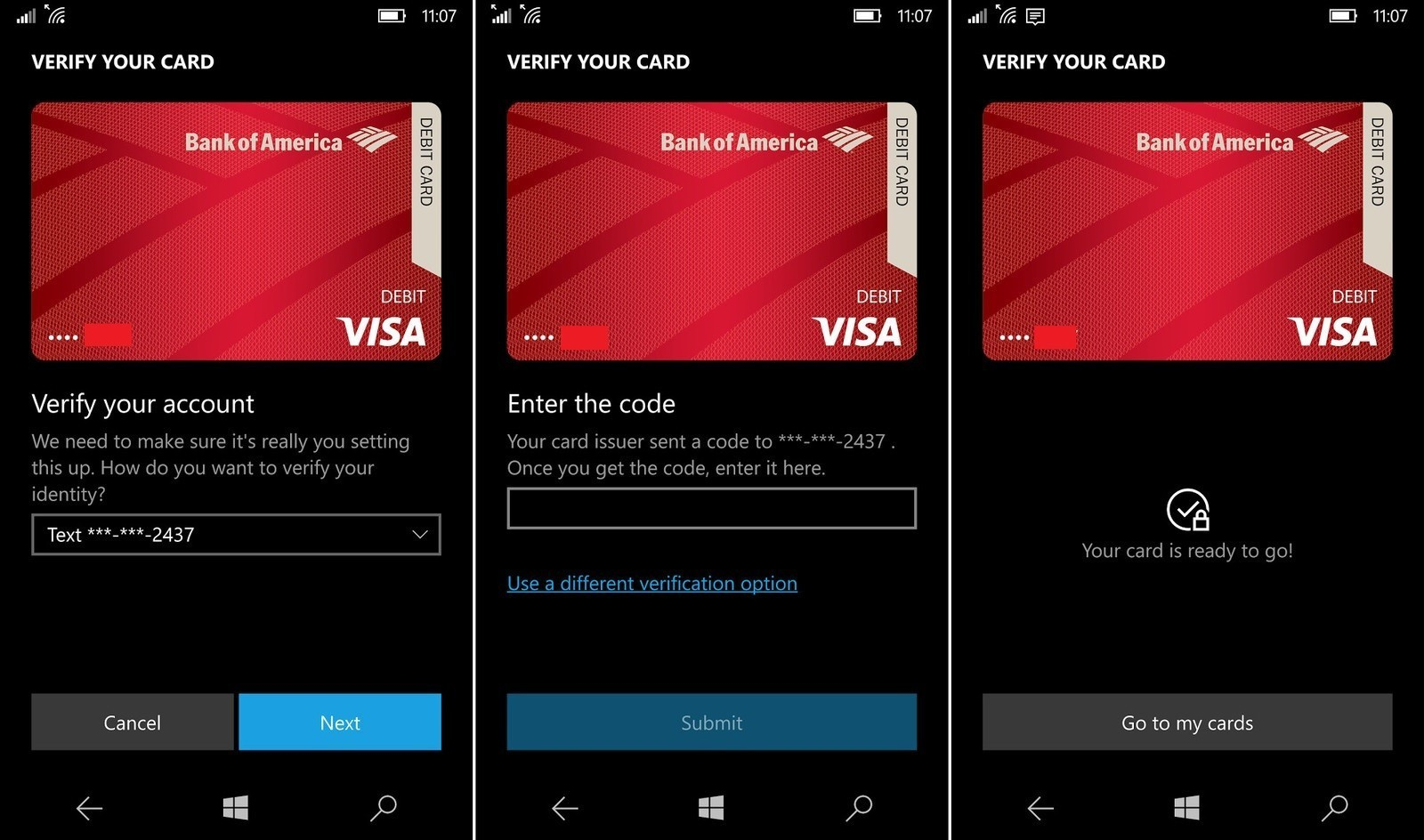 Microsoft Wallet 2.0 Brings NFC Wireless Payments To Windows 10 Mobile Devices