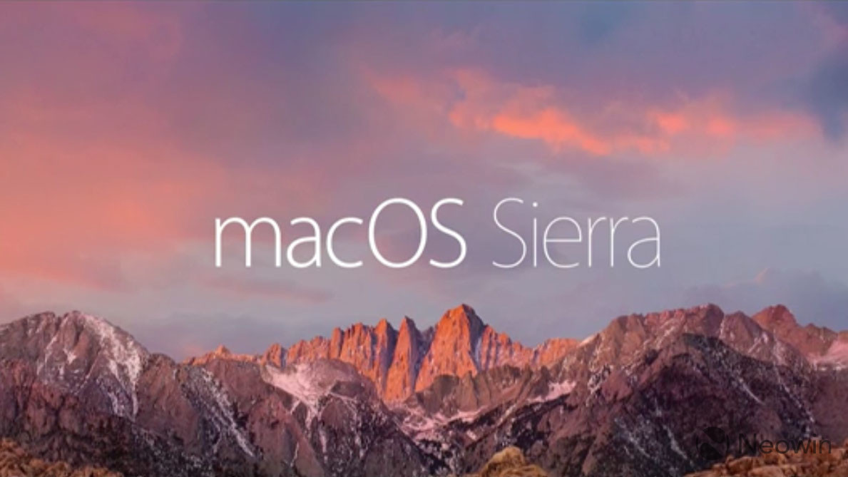 Apple releases Meltdown patches for macOS Sierra, OS X El Capitan