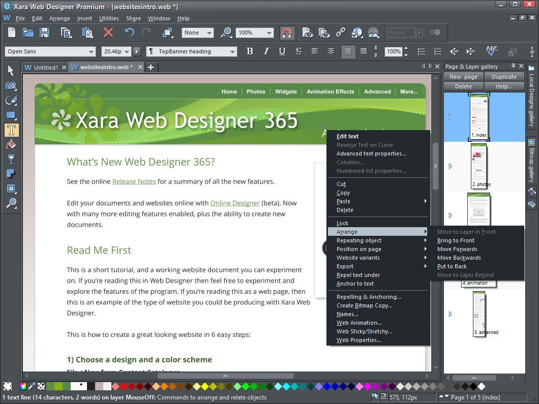 Resultado de imagen para Xara Web Designer Premium 16