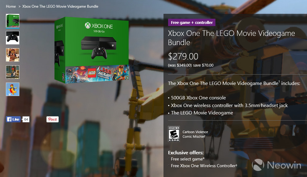 Microsoft has cut the price of the Xbox One to $279 - Neowin