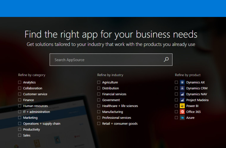 Microsoft launches app store for business, AppSource