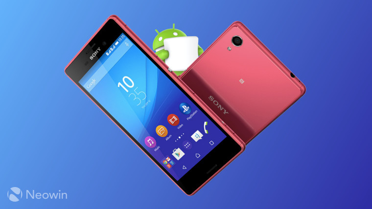 Sony Xperia M4 Aqua gets a taste of Android 6 0 1