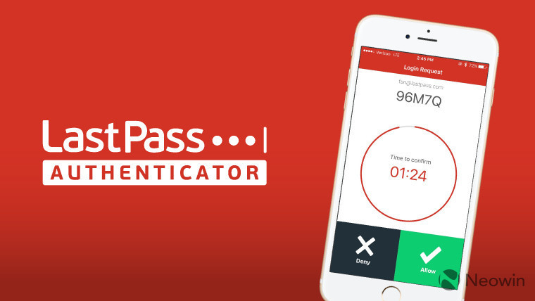 LastPass updates Authenticator app with push-based 2FA for iOS