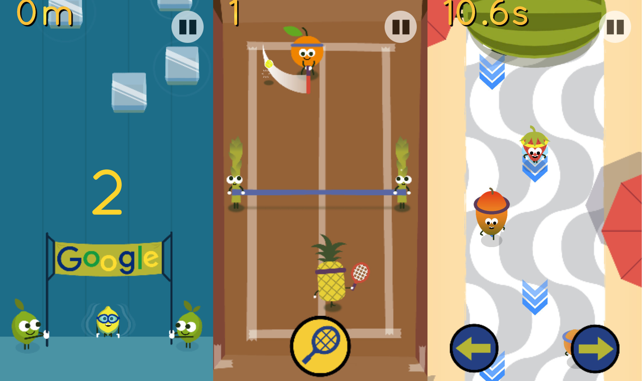 today s google doodle celebrates the olympics with fruity mini games neowin today s google doodle celebrates the