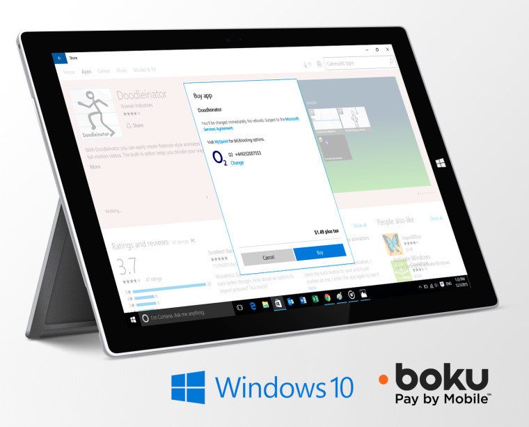 Microsoft expands Windows 10 Store carrier billing in UK