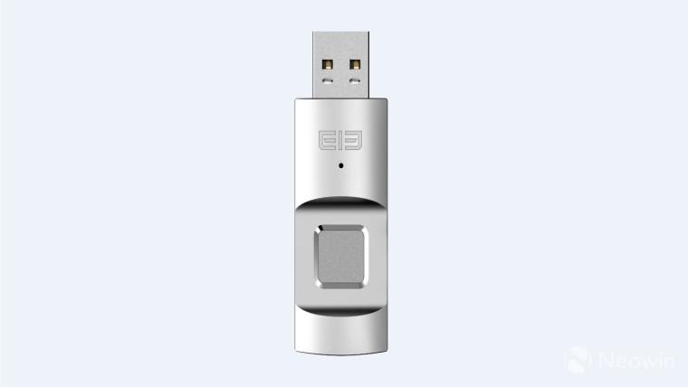 The Elephone U-Disk is a biometrically encrypted USB flash drive