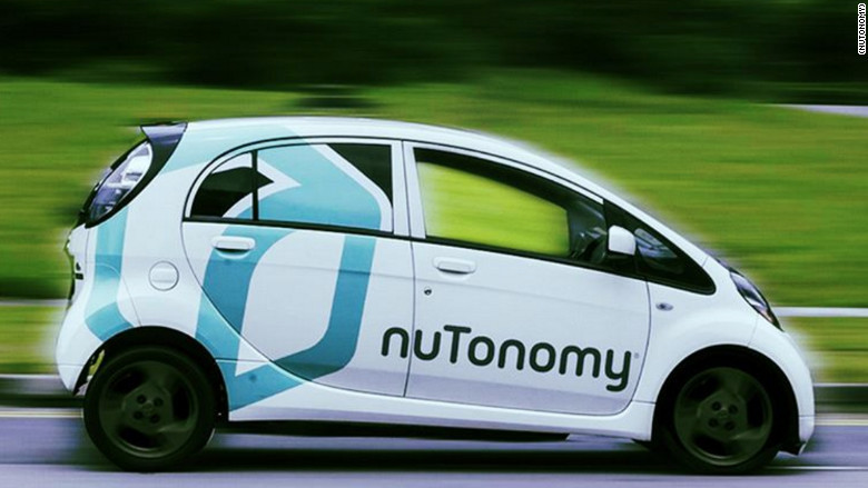 Singapore trials driverless taxis in world first