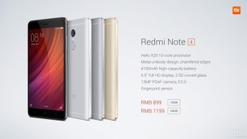 Redmi Note 4 ditches Snapdragon for a deca-core Helio X20, launching in China
