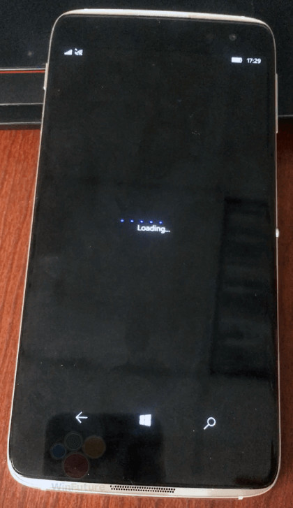 """Alcatel's idol 4 pro windows 10 mobile """"superphone"""" gets a few leaked images - onmsft. Com - september 8, 2016"""